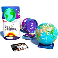 Shifu Cosmos - Solar System, Planets, AR Educational Game, Toy Gift for Kids Age 5-10 Yrs (20 Cards, Purple)