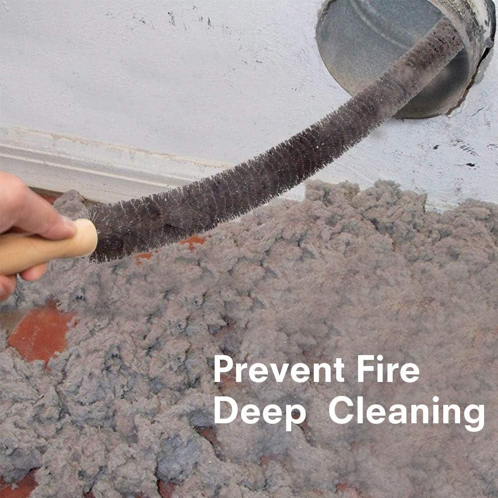 mango largo y cepillo de radiador flexible Cepillo de radiador Sanggi utilizado para limpiar el radiador radiador largo y suave cepillo limpiador de madera mango