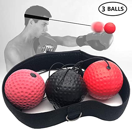 Outdoor Sport Gym Ball Fitness Equipment Reflex Exercise Workout Agility Train H