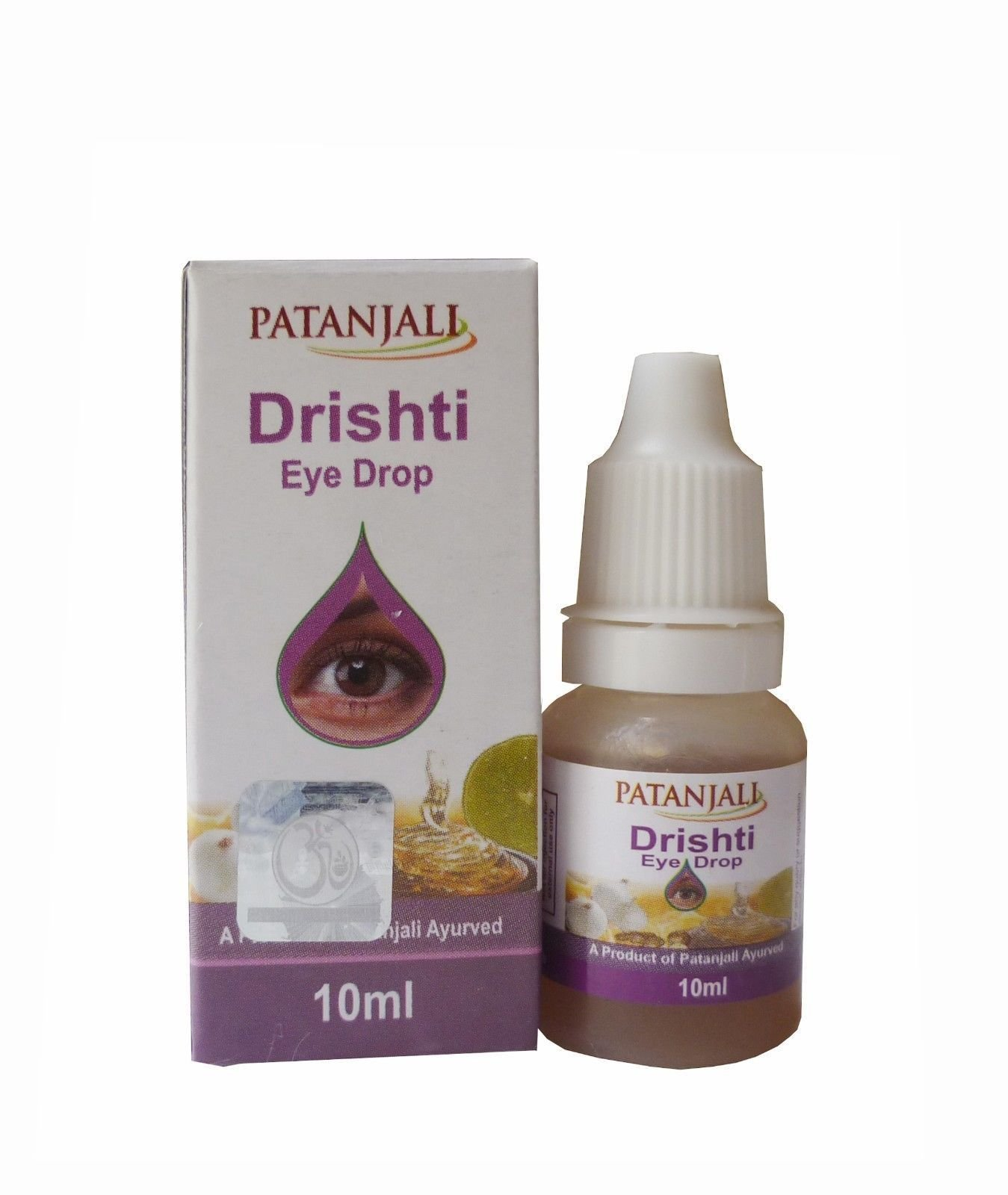 Patanjali DRISHTI Eye Drop (10ml) - Pack of 5