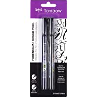 Tombow Fudenosuke Brush Pen 2 Pens Set