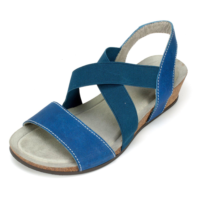 White Mountain Women's Carlisa Wedge Sandal
