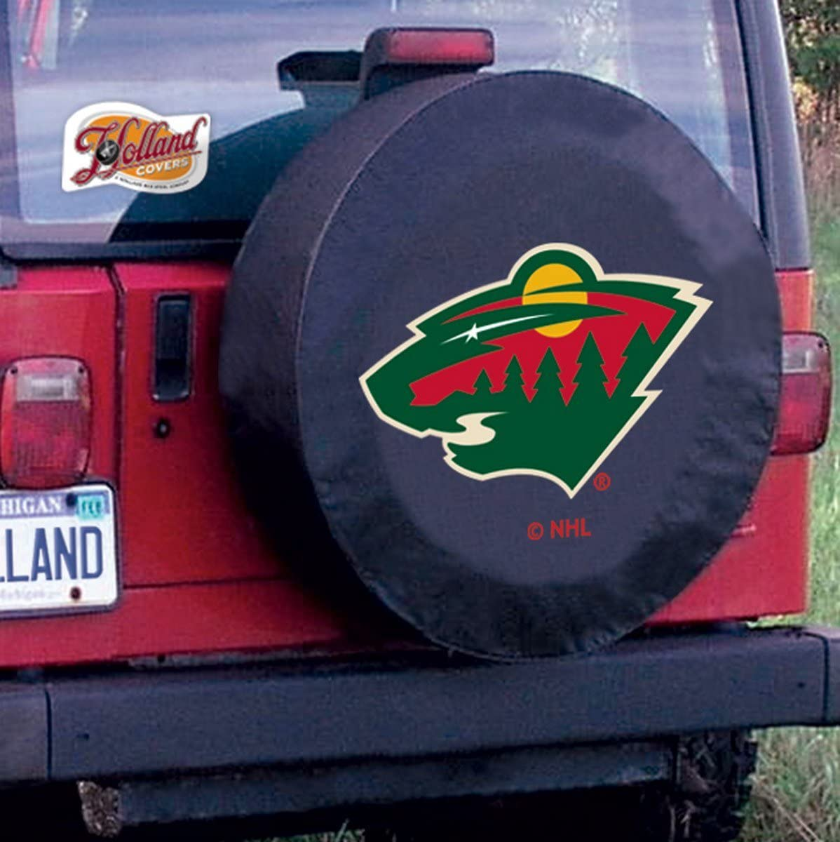 Holland Bar Stool 31 1//4 X 11 Minnesota Wild Tire Cover