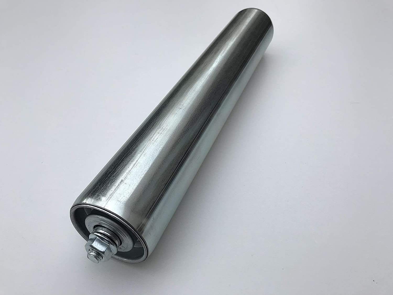 length: 100 mm conveyor roller rollers steel dia 50 mm with steel axle for gravity conveyor