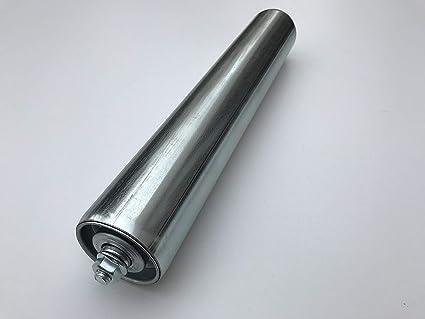conveyor roller rollers steel dia 50 mm with steel axle for gravity