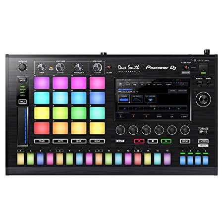 Amazon.com: Pioneer DJ TSP-16 Professional Sampler: Musical ...