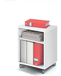 Safco Scoot - Soporte de Impresora, para Poner al Lado del Escritorio, Color Negro: Amazon.es: Hogar