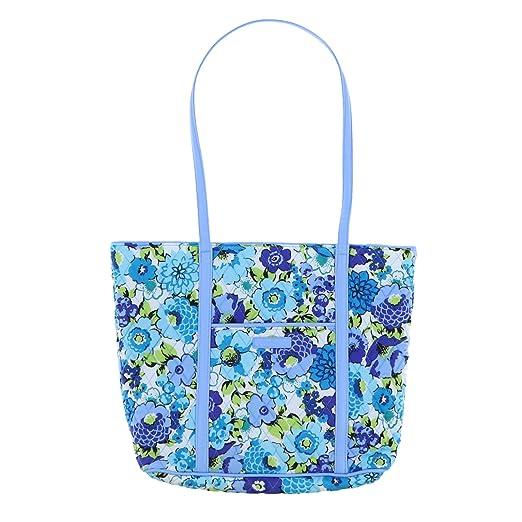5e030db4fe5 Amazon.com  Vera Bradley Small Trimmed Vera Tote Bag (Tropical Paradise)   Kitchen   Dining