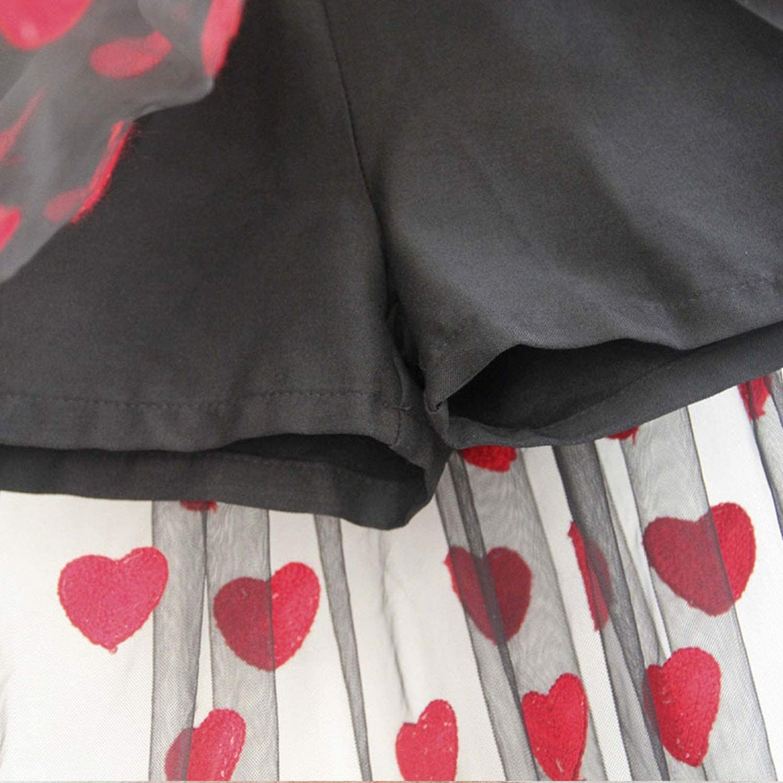 XiaoTianXinChildrenscostumes XTX Girls Warm Classic Fleece Print Cute Trousers Legging 9 10//11T