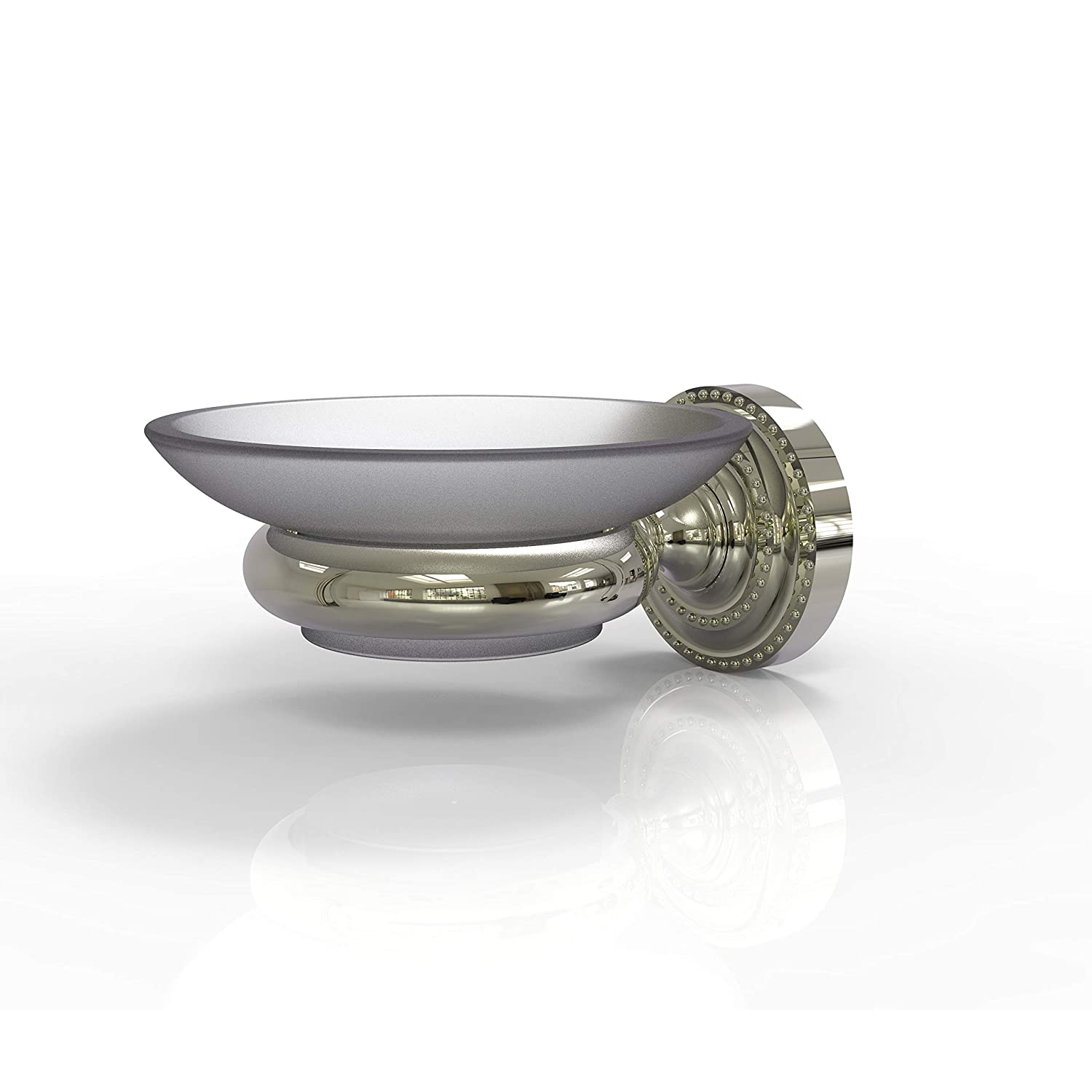 Allied Brass DT-62 Dottingham Collection Wall Mounted Soap Dish Polished Nickel