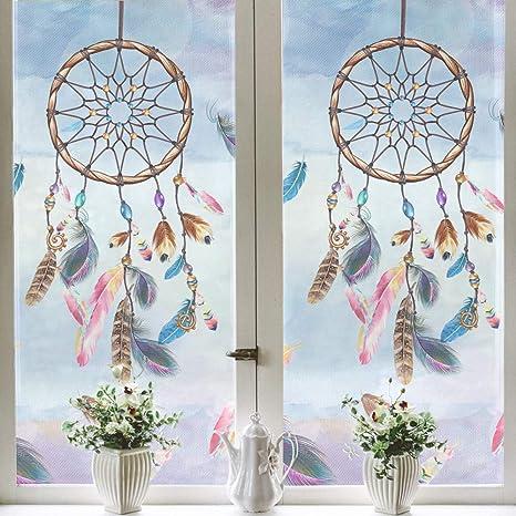 Fensterfolie Florales Muster Tenstickers