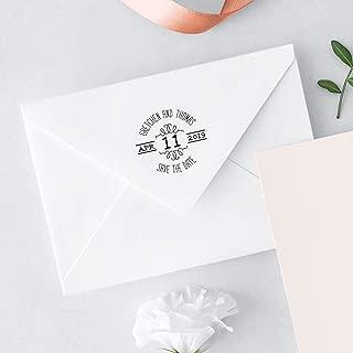 product image for Three Designing Women - Award Winning Custom Stamps - Wedding Couple's Names & Wedding Date Custom Stamp (CSW10018R)