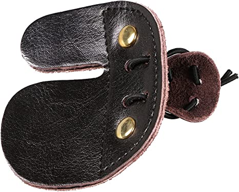 TOP QUALITY LEATHER ARCHERY FINGER TAB