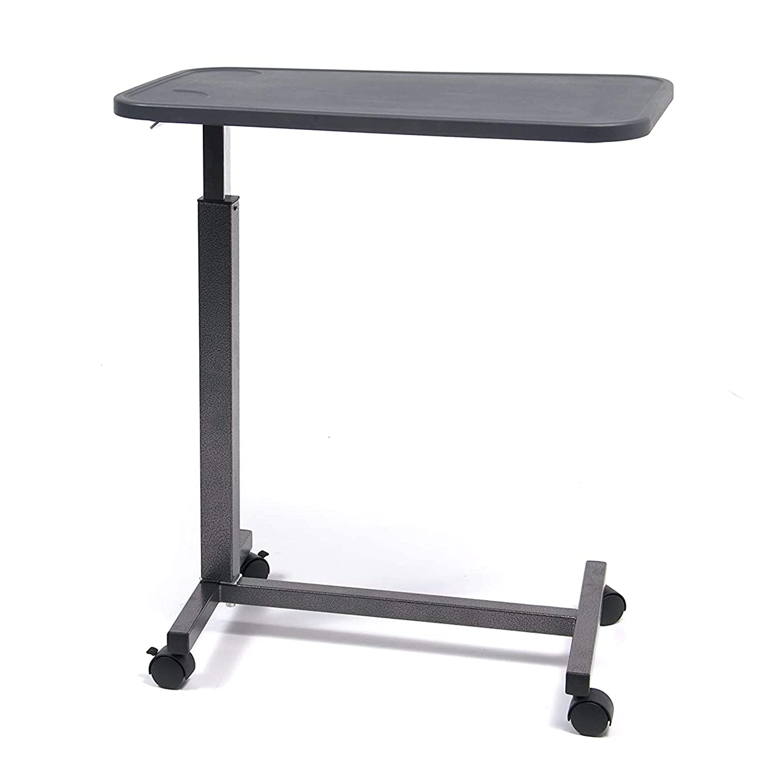Graham-Field - GF8903PS Lumex Over Bed Table with Non Tilt-Composite Top-Silver Vein Finish, 23 Pound, 35x80