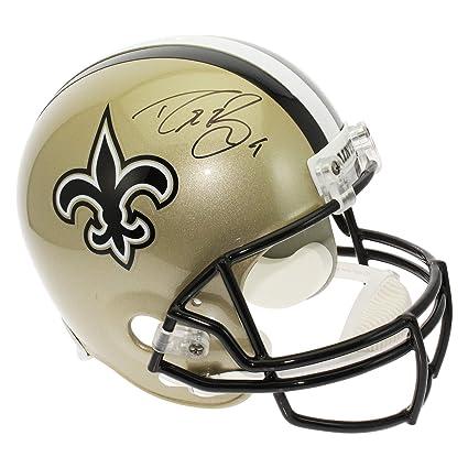 0f975c78d Drew Brees Autographed Signed New Orleans Saints Full Size Replica Helmet -  PSA DNA Certified