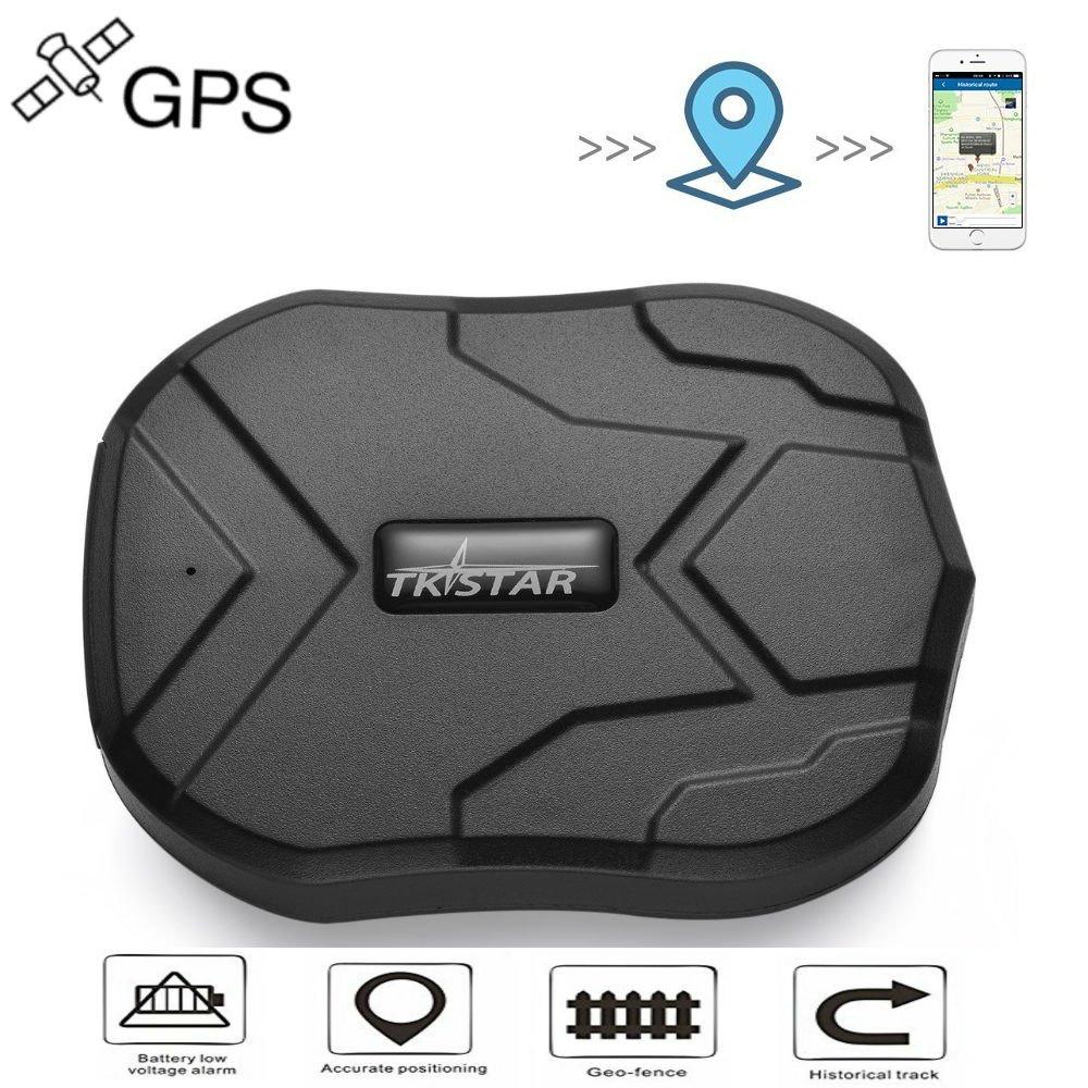 TKSTAR Antivol en Temps Ré el GPS Tracker pour Voiture Avec aimant Puissant Tk905 JUNEO