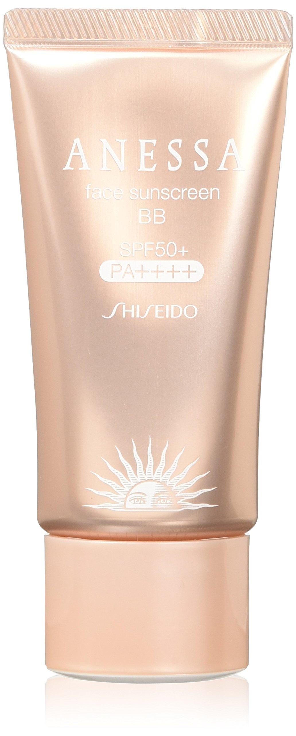 Shiseido Anessa Face Sunscreen BB Pa+++ Spf50+ Light Color