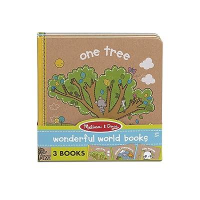 Melissa & Doug Children's Books: Natural Play 3-Pack: Melissa & Doug: Toys & Games