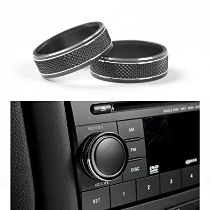 amazon jecar interior cd audio button cover decoration ring 2015 Jeep Rubicon Interior jecar interior cd audio button cover decoration ring twist switch ring trim 2008 2017 jeep