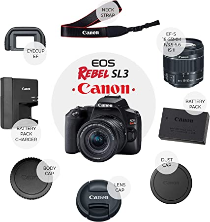 PHOTO4LESS Canon EOS Rebel SL3 (Black) product image 7