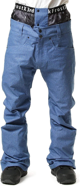 JACK FROST13 ジャックフロスト スノーボード ウェア パンツ MEN'S PT 19-20モデル メンズ JFP92601D 663D青 Small