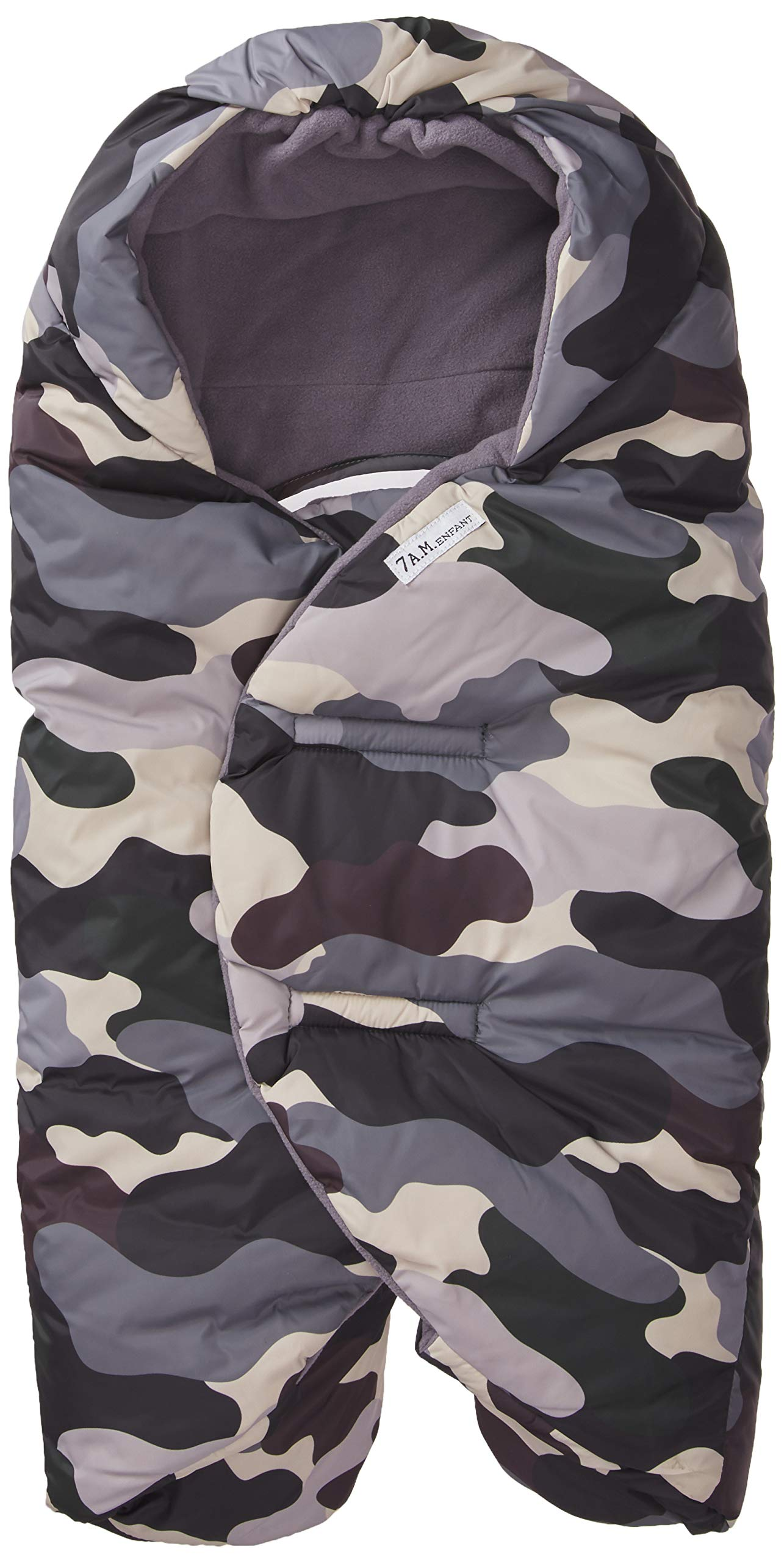 7 A.M. Enfant Nido Quilted, Camo Forest, Small