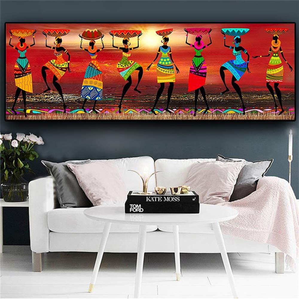 Geiqianjiumai Resumen Mujer Africana Desnuda Pintura Mural de ...