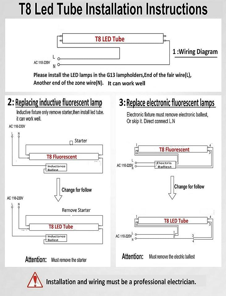 T8 Ballast Wiring Diagram Starter. T5 Wiring Diagram, T8 ...