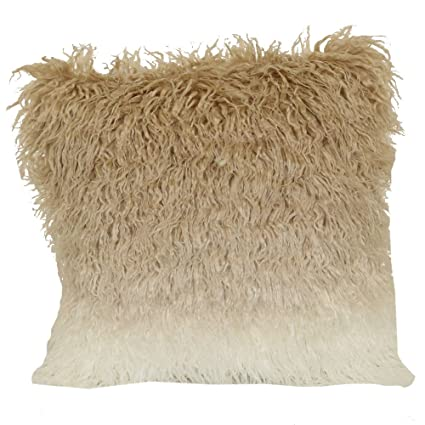 Amazon Brentwood Originals 40 Ombre Mongolian Fur 40 Pillow Classy Brentwood Originals Decorative Pillows And Chair Pads