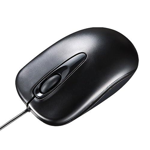 サンワサプライ MA-R115BK 有線光学式マウス