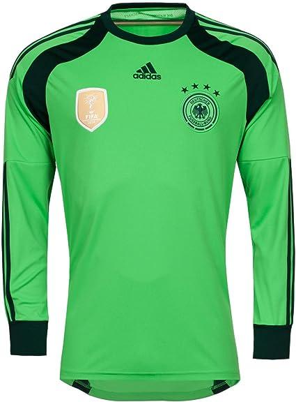 adidas DFB torwart Trikot 4 Sterne 2014 L Green: