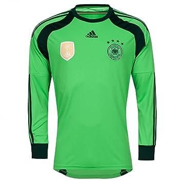 Adidas Deutschland DFB Home Torwart Trikot Neuer WM Badge 2014