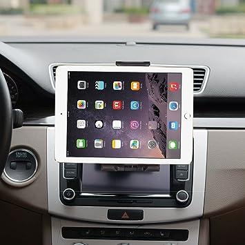 "CD Slot Universal Tablet Car Mount Holder for 7/""-12/"" iPad//Galaxy Tab//Tablet//GPS"