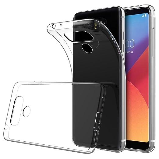 """8 opinioni per Cover LG G6 5.7"""", Simpeak Custodia Chiaro Cristallo Liquid Crystal Estremamente"""