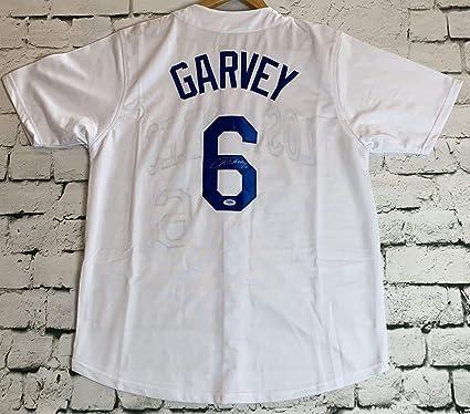 cheaper 354ec b7567 Steve Garvey Signed Autographed Los Angeles Dodgers ...