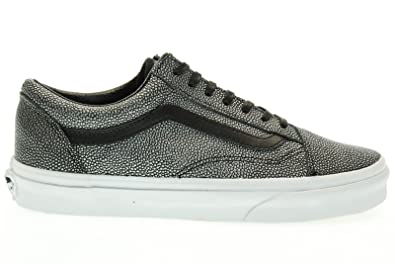b0ced40e40c5be Image Unavailable. Image not available for. Color  Vans Old Skool Embossed  Stingray Black Unisex Shoes
