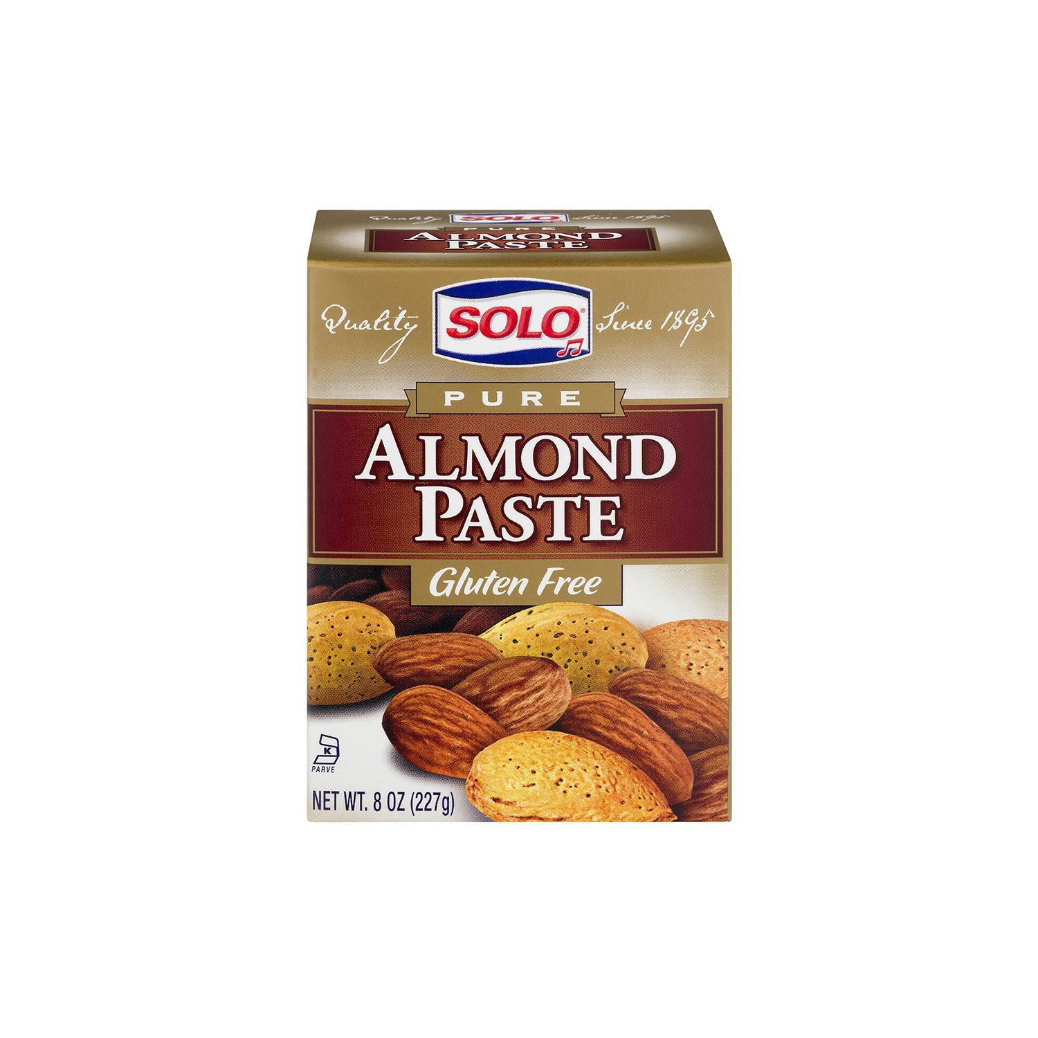 Solo Pure Almond Paste -- 8 oz