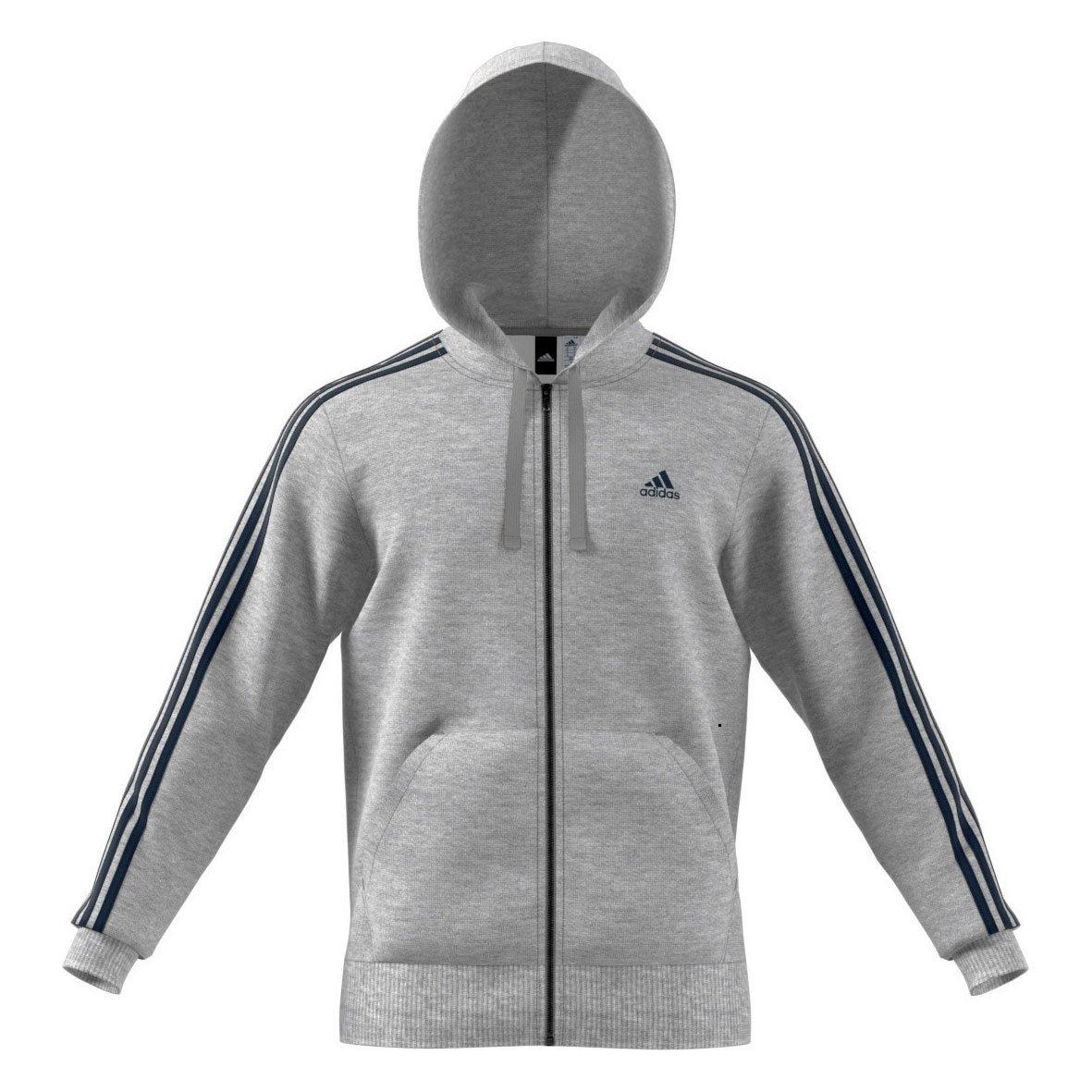 Adidas Ess 3S FZ B, Sweatshirt