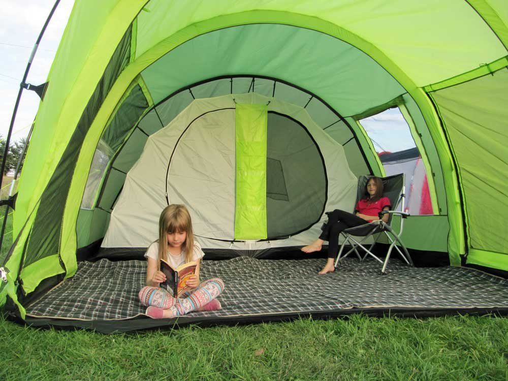 Amazon.com  Olpro Cocoon 4 Berth Family Tunnel Tent - Green  Sports u0026 Outdoors & Amazon.com : Olpro Cocoon 4 Berth Family Tunnel Tent - Green ...