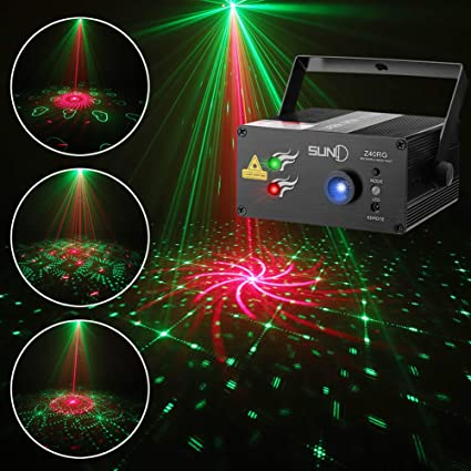 Christmas Party Outdoor Projector LED Laser Lights Remote Control Green /& Red