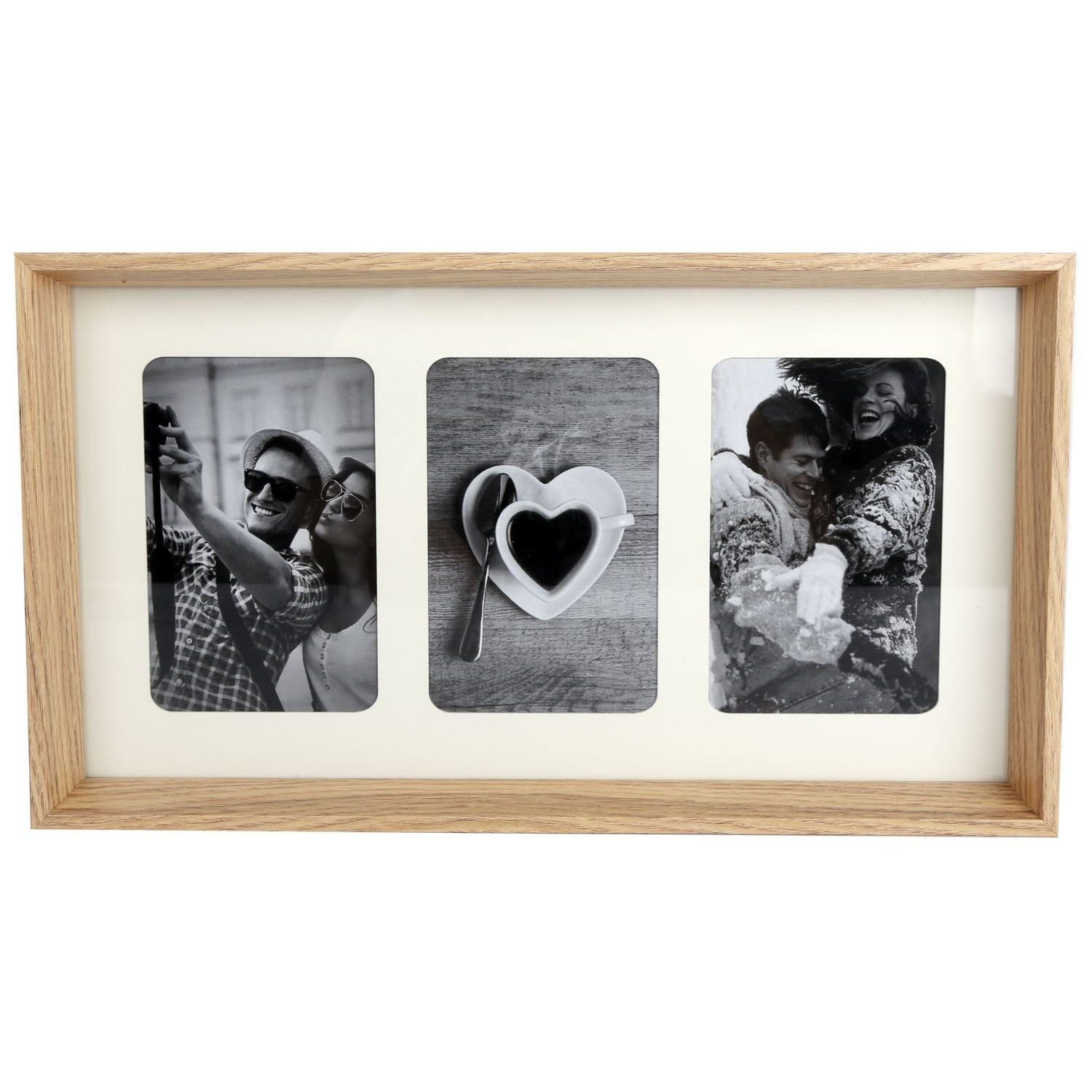 Frame Company Black Multi-Aperture Collage Photo Picture Frame Willow Range