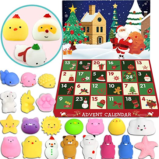 gift surprise EXCLUSIVE Christmas 2019 advent calendar THE GRINCH