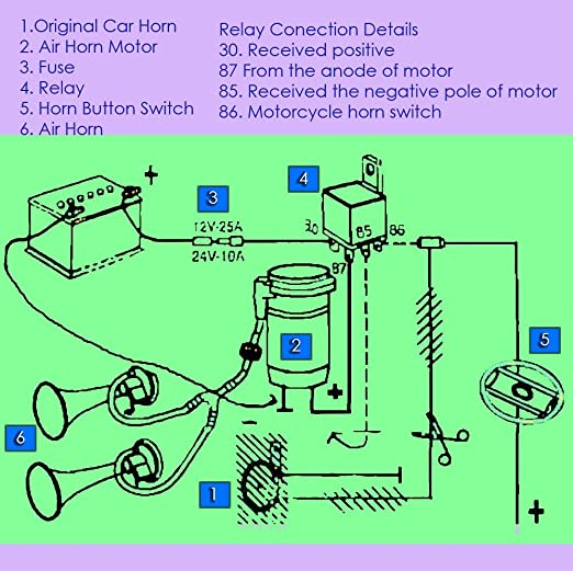 71TV8ZGeT0L._SX522_ air horn relay diagram efcaviation com  at soozxer.org