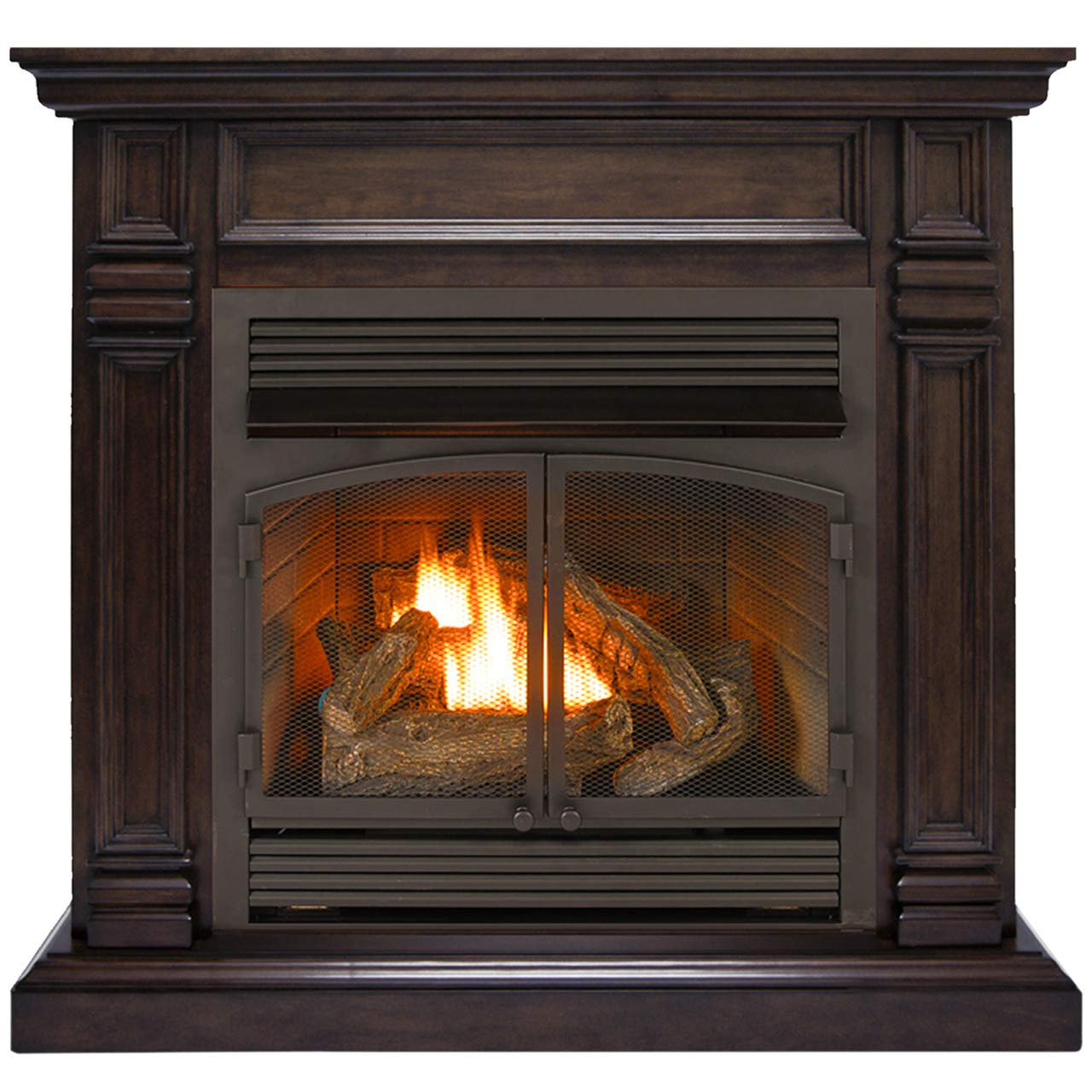 Duluth Forge Dual Fuel Ventless Fireplace Insert-32,000 BTU, T-Stat Control Model FDF400T-ZC, Chocolate by Duluth Forge