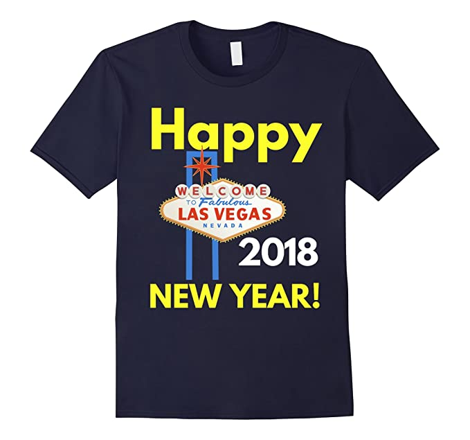 mens happy new year 2018 t shirt las vegas happy new year shirt 2xl