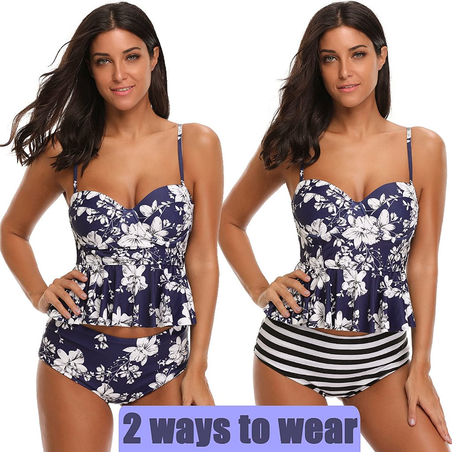 fc277e1c8466c Online Cheap wholesale SESY High Waisted Tankini Swimsuits Bathing Suit  Floral Printed Swimwear with Briefs for Women Sets Suppliers