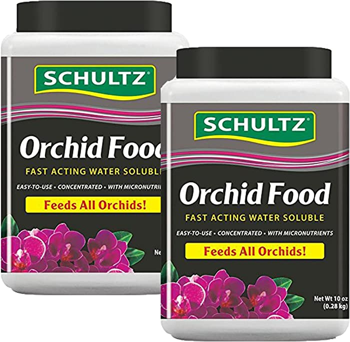 Schultz Water Soluble Orchid Food 20-20-15, 20 oz