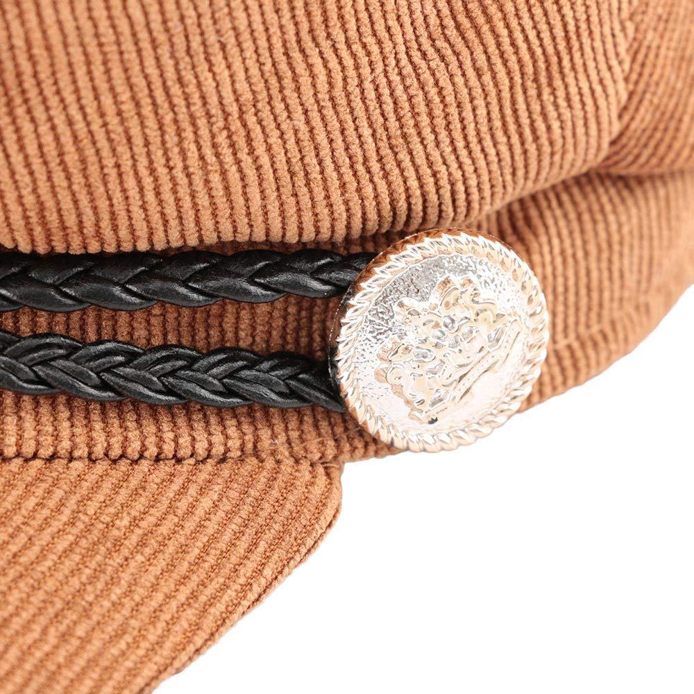 Amazon.com: 1 Pcs Brand Fashion Autumn Winter Vintage Style Newsboy ...
