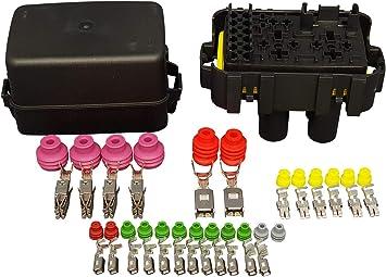 [DIAGRAM_1JK]  Amazon.com: MTA Waterproof Fuse Relay box Panel Module for 6 Mini Fuses,1  Maxival fuse, 3 micro and 1 mini relays: Automotive | Waterproof Fuse Relay Box |  | Amazon.com