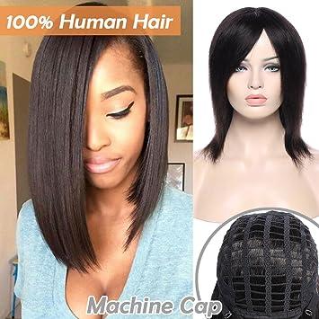 Perruque Femme Vrai Cheveux Bresilienne Naturelle